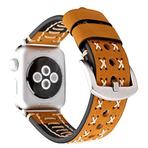Genuine Leather Apple Watch Band