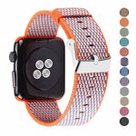 Load image into Gallery viewer, Nylon Apple Watch Band (Woven Orange)