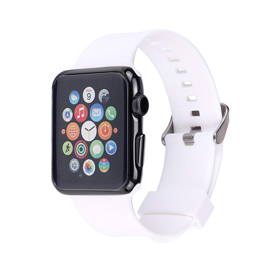 Apple Watch Silicone Band (White)