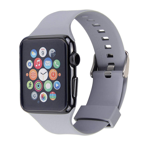 Apple Watch Silicone Band (Grey)