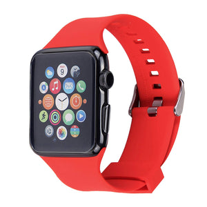 Apple Watch Silicone Band (Red)