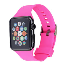 Apple Watch Silicone Band (Dark Pink)