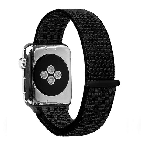 Apple Watch Sport Loop Band (Dark Black)