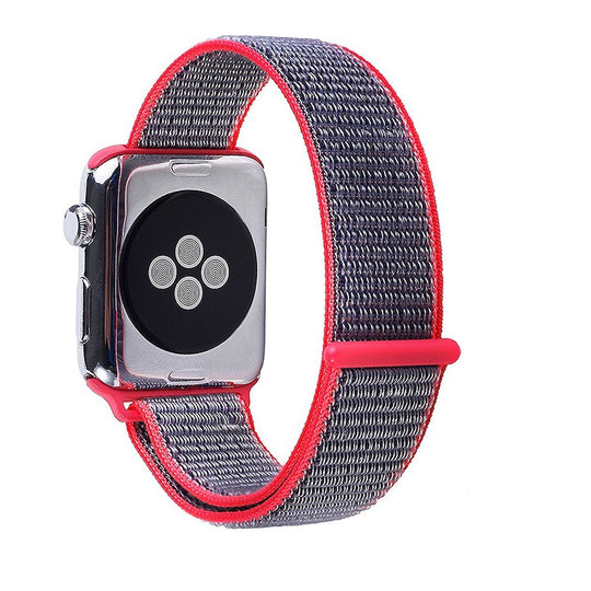 Apple Watch Sport Loop Band (Pink and Blue)