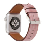 Load image into Gallery viewer, Leather Apple Watch Replacement Band(Pastel: Pink)