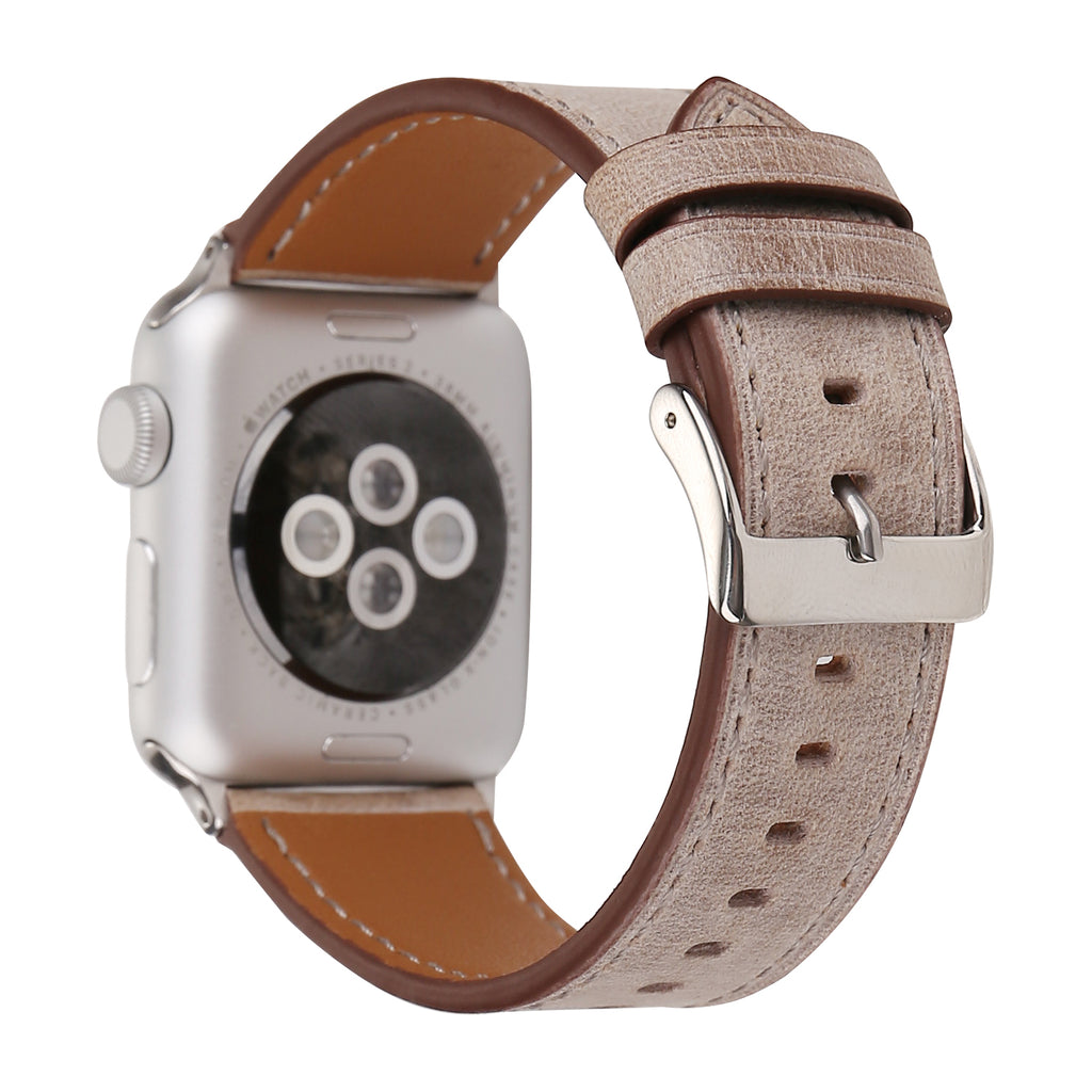 Leather Apple Watch Replacement Band
