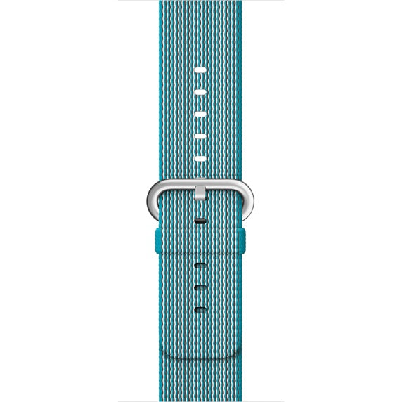 Nylon Apple Watch Band (Solid: Light Blue)