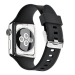 Load image into Gallery viewer, Apple Watch Silicone Band (Solid - Black)