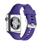 Load image into Gallery viewer, Apple Watch Silicone Band (Solid - Purple)