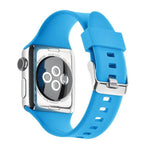Load image into Gallery viewer, Apple Watch Silicone Band (Solid - Light Blue)