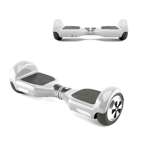 "6"" eBOARD (White) (Classic Hoverboard)"