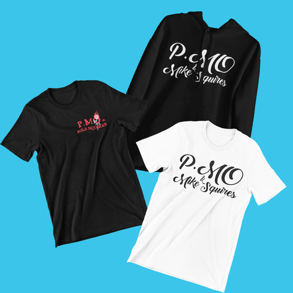 P.MO & Mike Squires Shirt & Hoodie Bundle