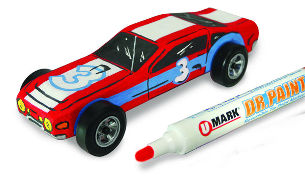 Dr. Paint™ Reversible Tip Paint Marker Derby Packs