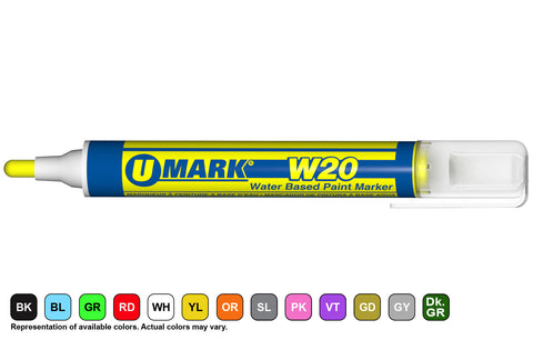 W20 Water Based Paint Marker