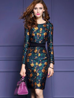 Beautiful floral dress - The Royal Boutique