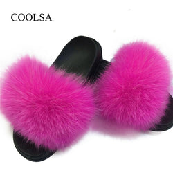Fuzzy Fur Slippers