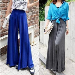 harem pants high waist wide leg pants - The Royal Boutique