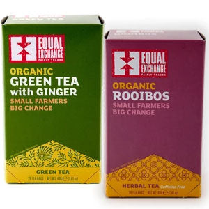 Two tea boxes