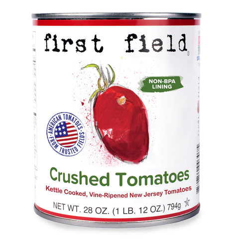 28oz can of First Field Crushed Tomatoes