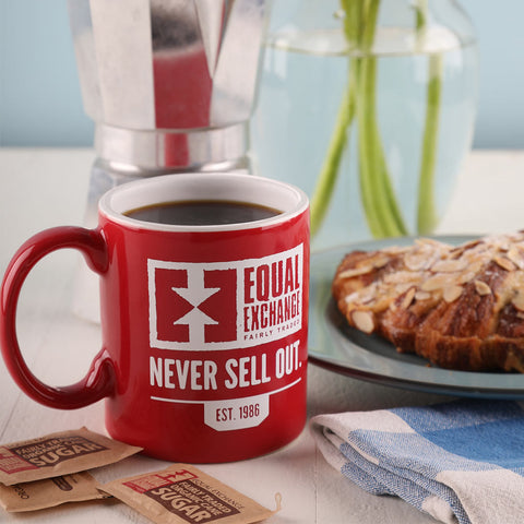 Never Sell Out Mug with Breakfast