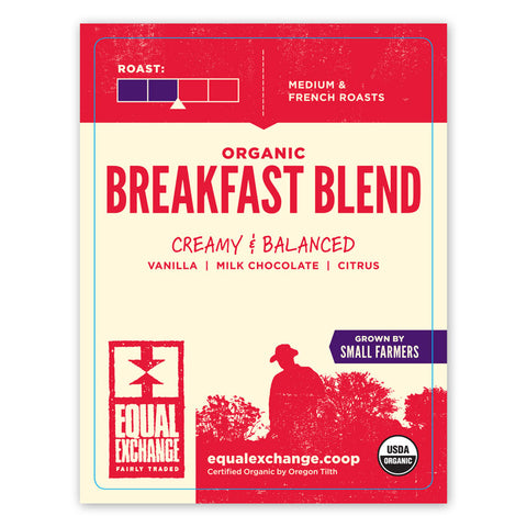 Breakfast Blend Airpot Label
