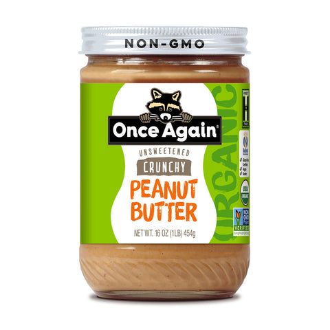 A jar of peanut butter