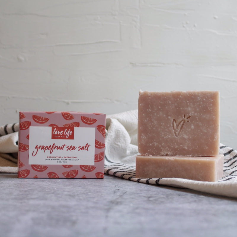 Grapefruit Sea Salt Soap