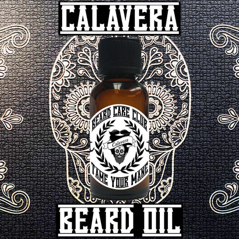 Calavera Beard Oil