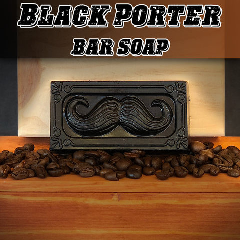 Black Porter Bar Soap Beard & Body Wash