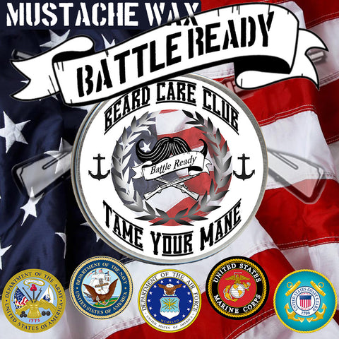 Battle Ready Mustache Wax