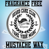 Fragrance Free Mustache Wax