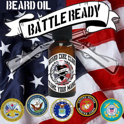 Battle Ready Beard Oil