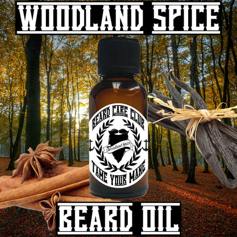 Woodland Spice Beard Oil