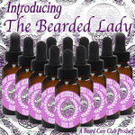 Bearded Lady Gift Box With Cherry Rose Body Butter