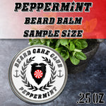 Peppermint Beard Balm