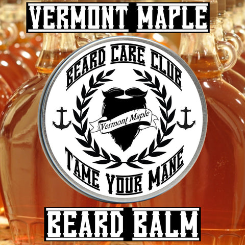 Vermont Maple Beard Balm