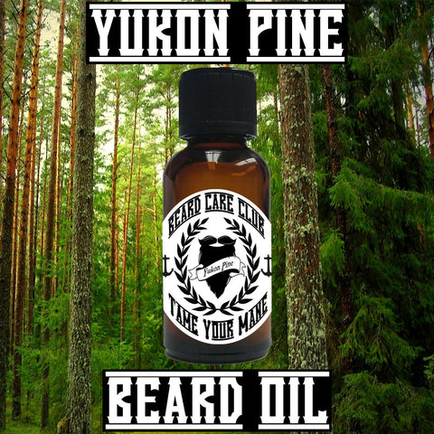Yukon Pine Beard Oil