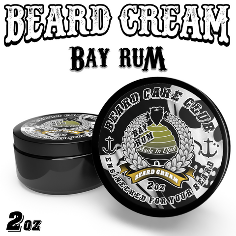 Bay Rum Beard Cream