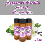 The Bearded Lady Hair Oil - Bergamot Vanilla