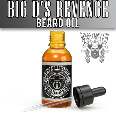 Big D's Revenge Beard Oil