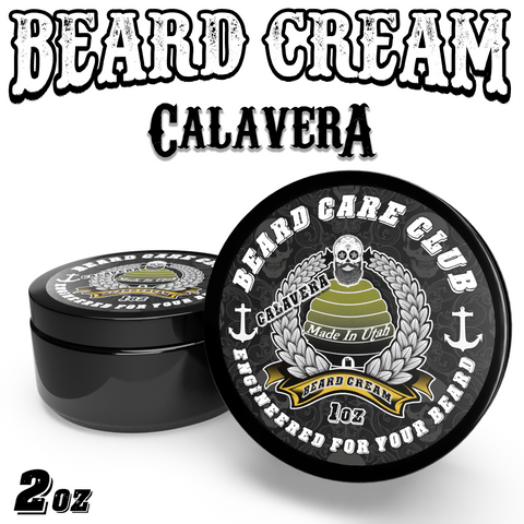 Calavera Beard Cream