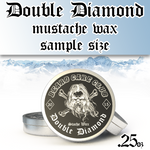 Double Diamond Mustache Wax