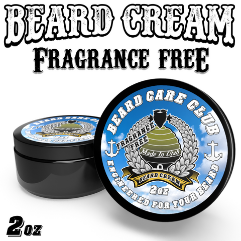 Fragrance Free Beard Cream