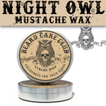 Night Owl Mustache Wax