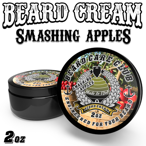 Smashing Apples Beard Cream