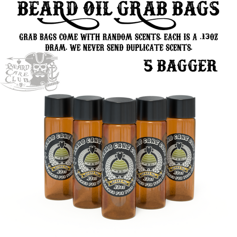 Beard Oil Sample Grab Bag