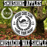 Smashing Apples Mustache Wax