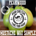 Pearwood Mustache Wax