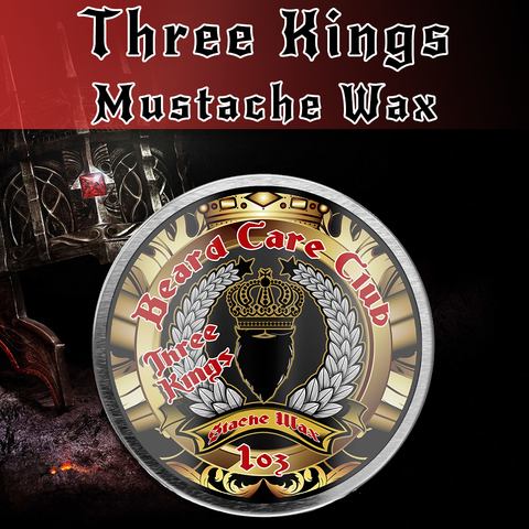 Three Kings Mustache Wax