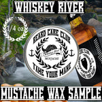 Whiskey River Mustache Wax